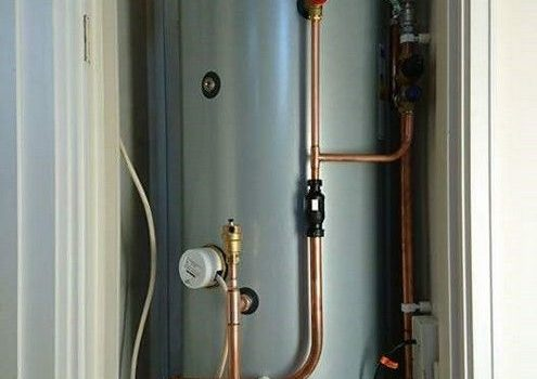 Hot Water Cylinder Installation
